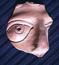Roman face pot from Micklegate